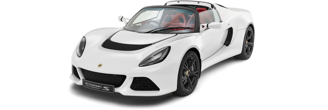 Exige Roadster Front 3Qtr roof-off