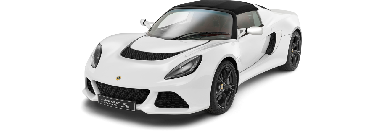 Exige Roadster Front 3Qtr roof-on