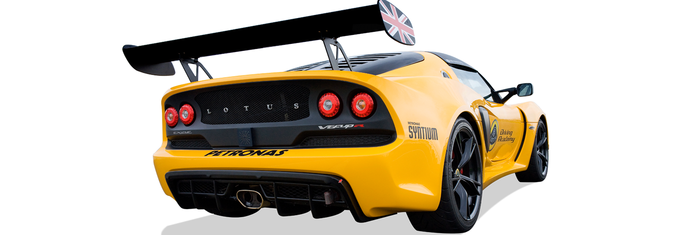 Exige V6 Cup R Rr3Qtr low view